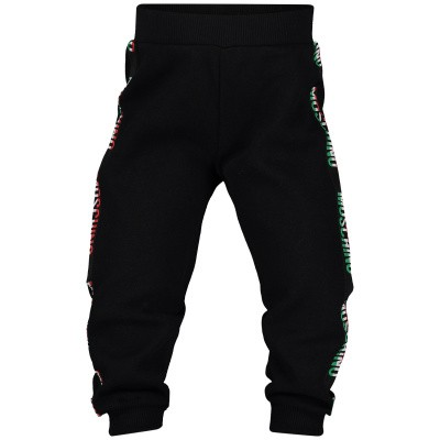 Picture of Moschino MUP02X baby pants black