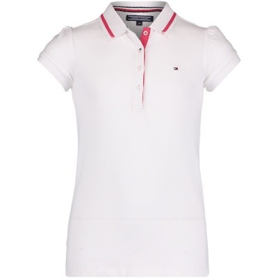 Picture of Tommy Hilfiger KG0KG03601 kids polo white