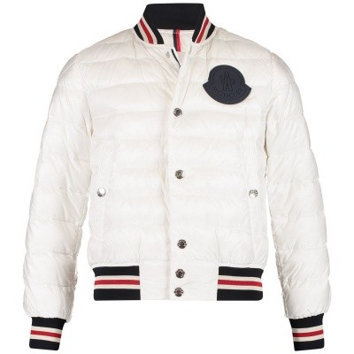 Picture of Moncler 4033799 kids jacket off white