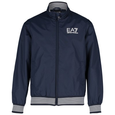 Picture of EA7 3GBB02 kids jacket navy
