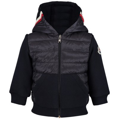 Picture of Moncler 8416105 baby vest navy