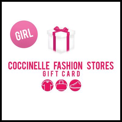 Afbeelding van Coccinelle Cadeaukaart 20euro giftwrap girl