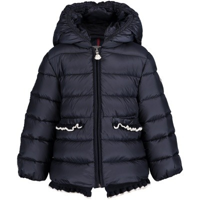 Picture of Moncler 4687805 baby coat navy