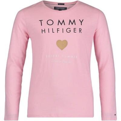 Afbeelding van Tommy Hilfiger KG0KG03636 kinder t-shirt licht roze