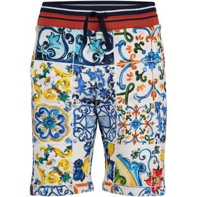 Afbeelding van Dolce & Gabbana L4JQD4 kinder shorts blauw