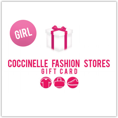Afbeelding van Coccinelle Giftcard CARD50 giftwrap girl