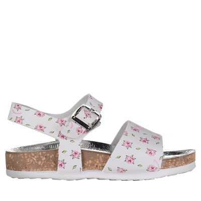 Picture of MonnaLisa 833014 kids sandals white
