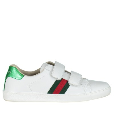 Picture of Gucci 455496 CPWC0 kids sneakers white