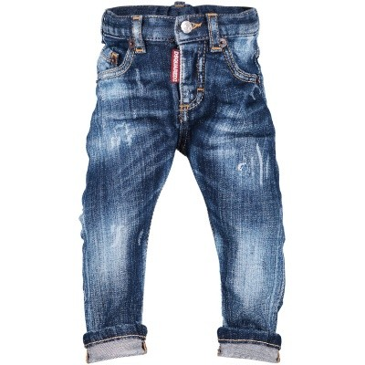 Picture of Dsquared2 DQ01TC D00SM baby pants jeans