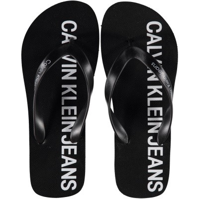 Picture of Calvin Klein ERROL mens flipflops black