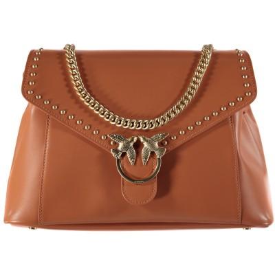 Afbeelding van Pinko 1P21B4 dames tas licht bruin