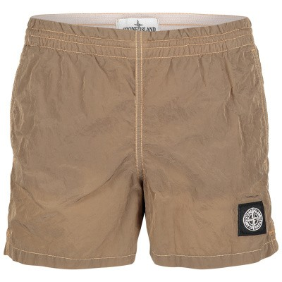 Picture of Stone Island 7016B0213 kids swimwear taupe