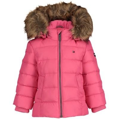 Afbeelding van Tommy Hilfiger KG0KG03958 B baby jasje roze