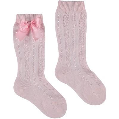 Picture of Story Loris 6354K kids socks light pink