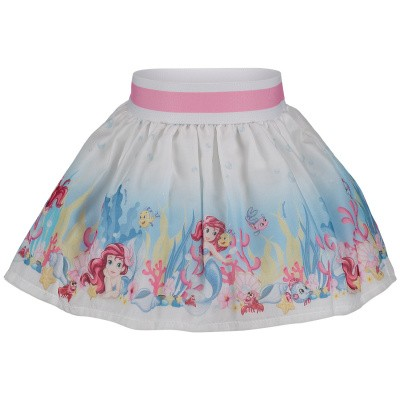 Picture of MonnaLisa 313706 baby skirt white