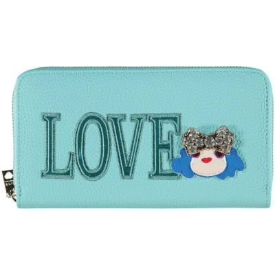 Picture of Moschino JC5651 womens wallet turquoise