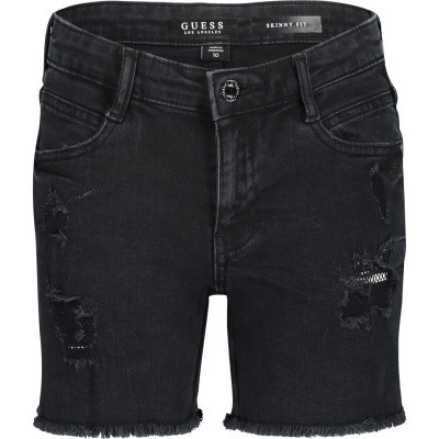 Picture of Guess J91D01 kids shorts black