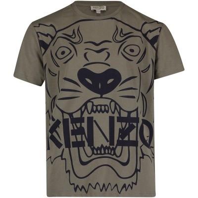 Afbeelding van Kenzo KM10558 kinder t-shirt army