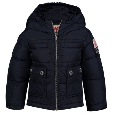 Picture of Dsquared2 DQ031P baby coat navy