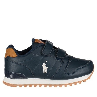 Picture of Ralph Lauren RF101175 kids sneakers navy