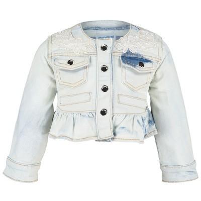 Foto van Mayoral 1416 baby vest jeans