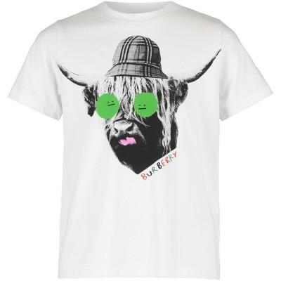 Afbeelding van Burberry 8007092 kinder t-shirt wit