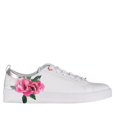 Picture of Ted Baker 918200 womens sneakers white