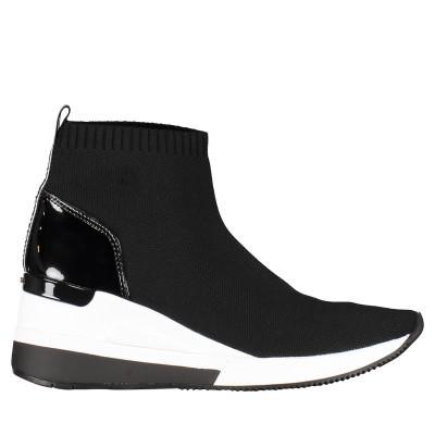 Afbeelding van Michael Kors 43R9SKFE2D dames sneakers zwart