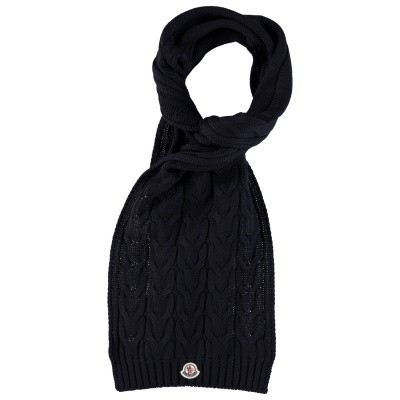 Picture of Moncler 0001605 kids scarf navy