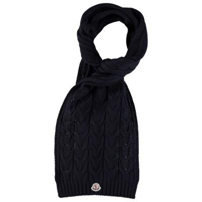 Afbeelding van Moncler 0001605 kinder sjaal navy