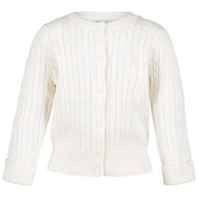 Picture of Ralph Lauren 543047 baby vest white