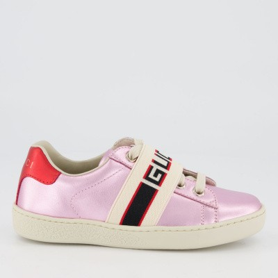 Picture of Gucci 553053 kids sneakers light pink