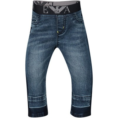 Picture of Armani 3GHJ07 baby pants jeans