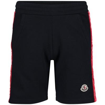 Afbeelding van Moncler 8707705 kinder shorts navy
