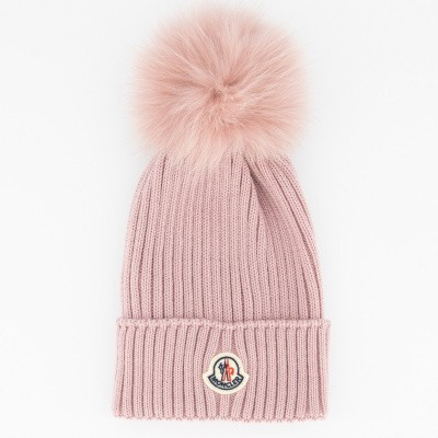 Picture of Moncler 0025605 kids hat light pink