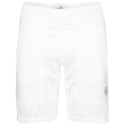 Afbeelding van Stone Island 7016L0811 kinder shorts wit