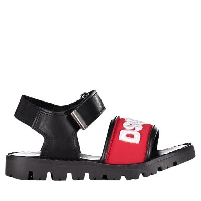 Picture of Dsquared2 59673 kids sandals red