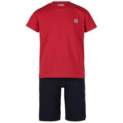 Afbeelding van Moncler 8813005 kindersetje rood