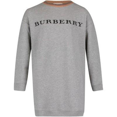 Afbeelding van Burberry 8002935 kinderjurk grijs