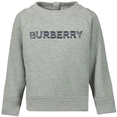 Picture of Burberry 8012515 baby sweater grey