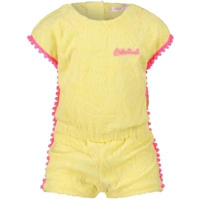 Afbeelding van Billieblush U04163 baby jumpsuit geel