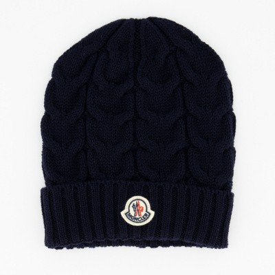 Picture of Moncler 0011005 kids hat navy