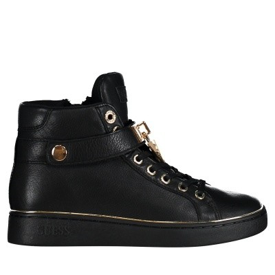 Picture of Guess FLBOG4LEA12 womens sneakers black