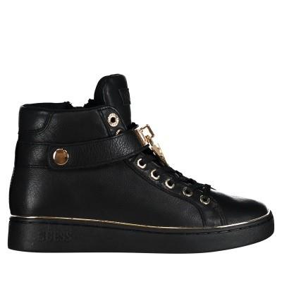 Afbeelding van Guess FLBOG4LEA12 dames sneakers zwart
