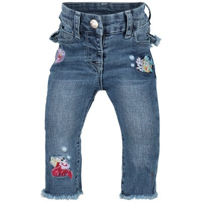 Picture of MonnaLisa 393420RI baby pants jeans