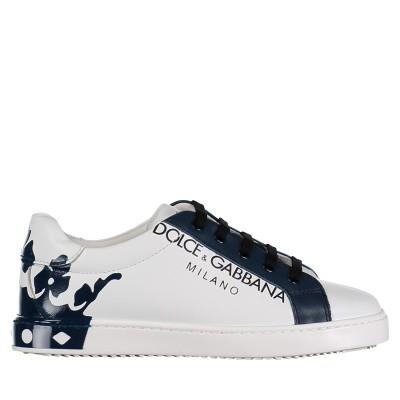 7874151741d Afbeelding van Dolce & Gabbana DA0608 AU613 kindersneakers wit