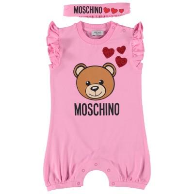 Afbeelding van Moschino MDY00F boxpakje roze