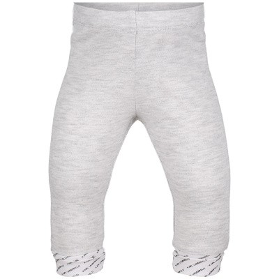 Picture of Karl Lagerfeld Z94045 baby pants light gray