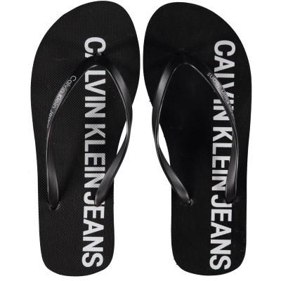 Afbeelding van Calvin Klein DORI dames slippers zwart