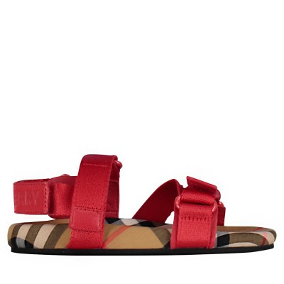 Picture of Burberry 8011416 kids sandals red